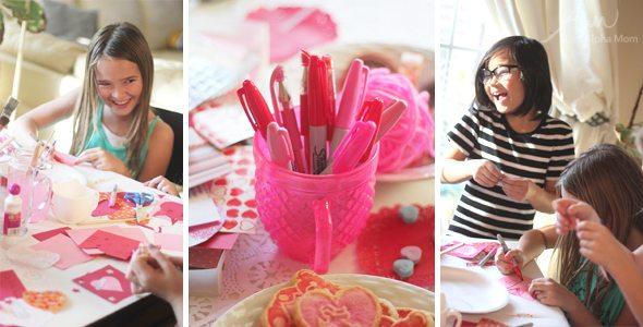 Valentine Crafting: a Tween Girl Bonding Experience by Brenda Ponnay for Alphamom.com