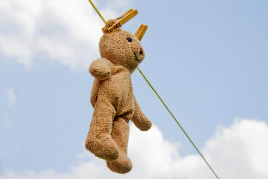 Lovies in the Laundry: How to Get the Stink Out of Stuffed Animals
