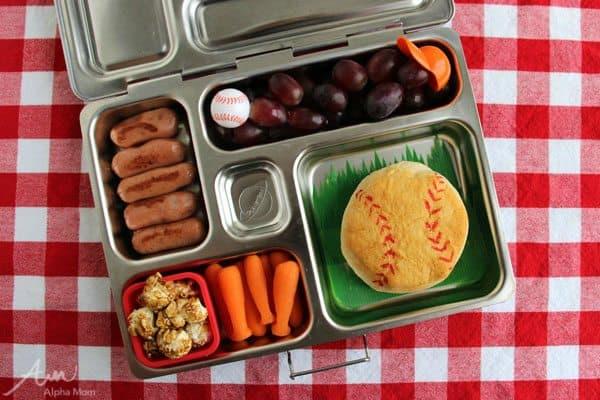 Baseball-Themed Lunch for Little League Season by Wendy Copley for Alphamom.com
