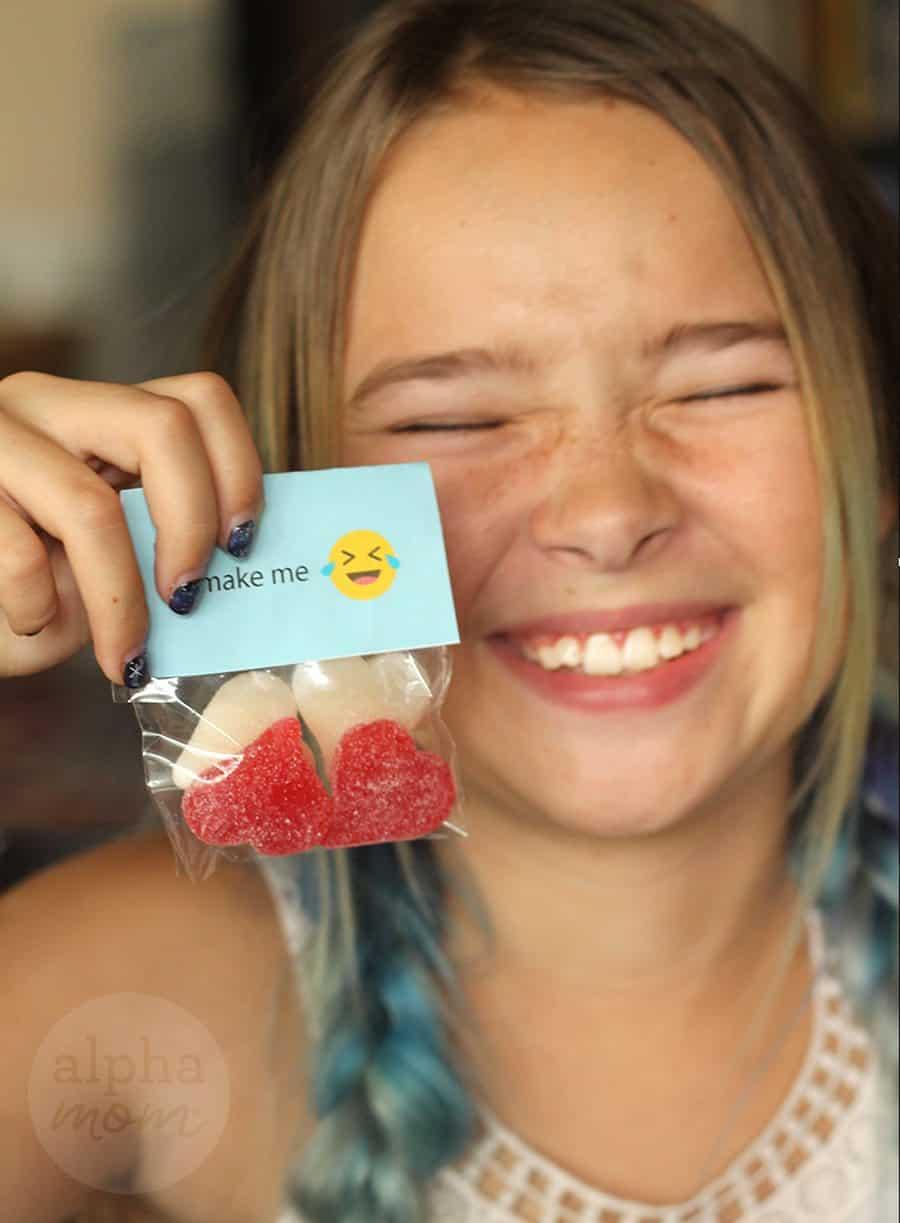 Emoji Candy Valentines For Kids Alpha Mom