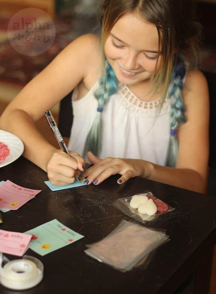 Emoji Candy Valentine Cards for Kids by Brenda Ponnay for Alphamom.com