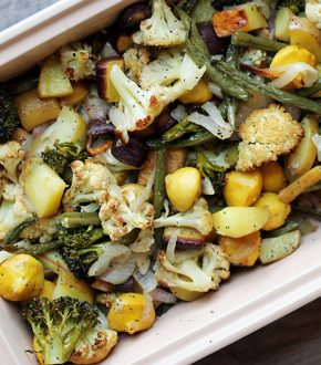 Teach Your Kids How to Roast Yummy Vegetables (Recipes Kids Should Know How to Cook Before Leaving Home) by Jane Maynard for Alphamom.com