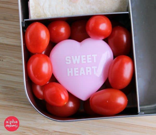 grape tomatoes in bento box