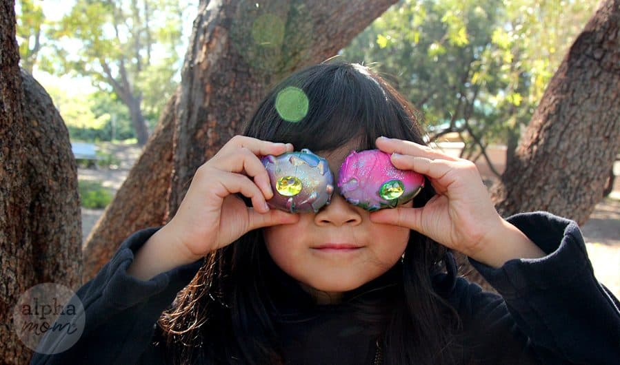 DIY Dragon Eggs for a super cool Easter Egg Hunt! by Brenda Ponnay for Alphamom.com
