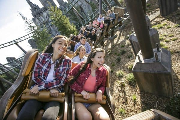 The Best Things to Do at Universal Hollywood and The Wizarding World of Harry Potter (Flight of the Hippogriff) Photo Credit David Sprague