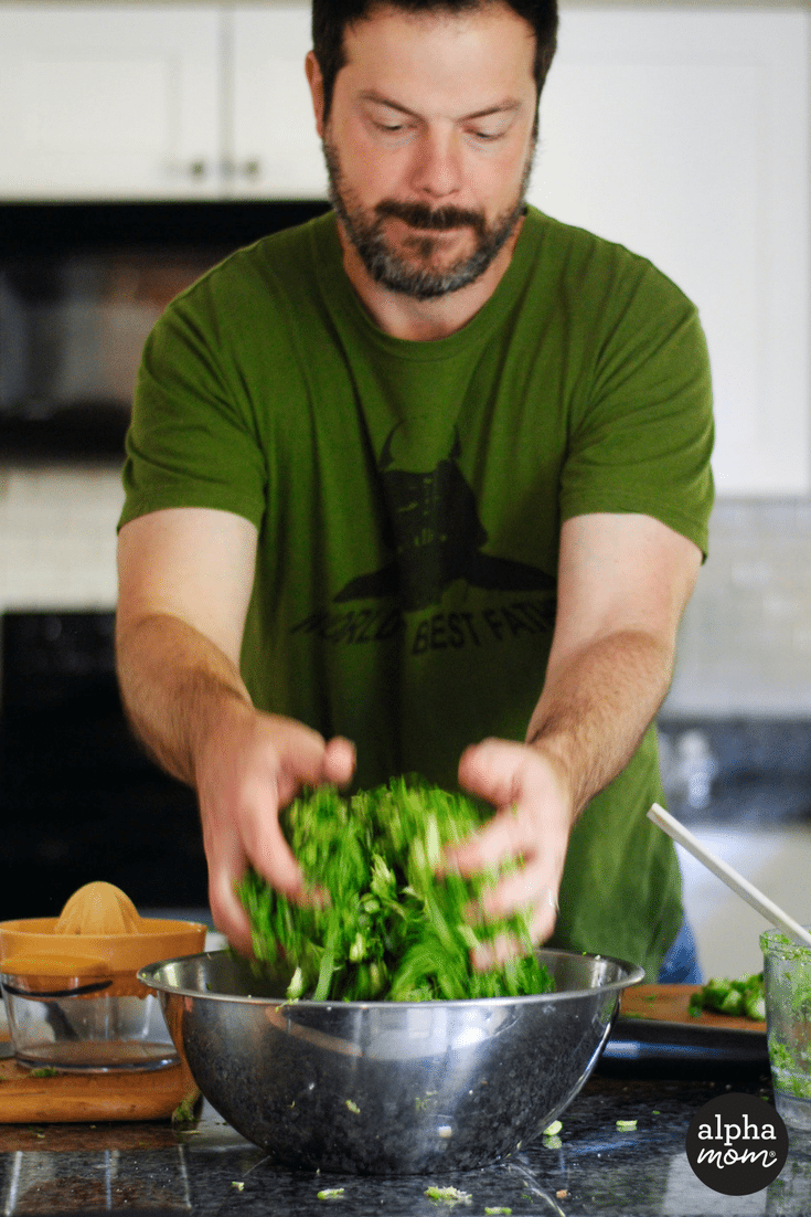Kale Amp Brussels Sprouts Salad That Kids Love Alpha Mom