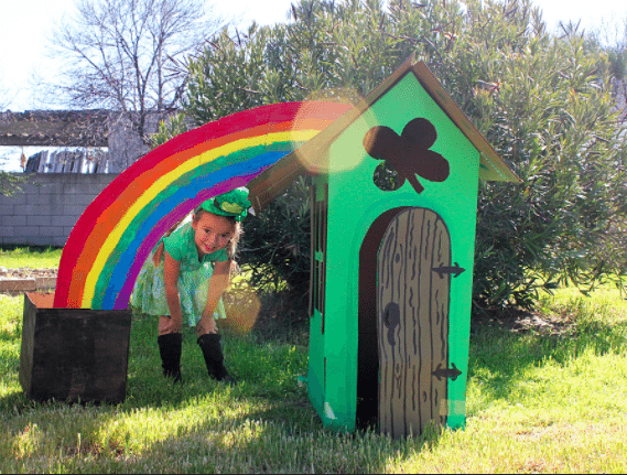 Lucky Little Leprechaun House by Brenda Ponnay for Alphamom.com