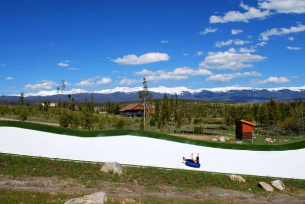 Snow Mountain Ranch in Winter Park, Colorado: great for Family Vacation (tubing hill)