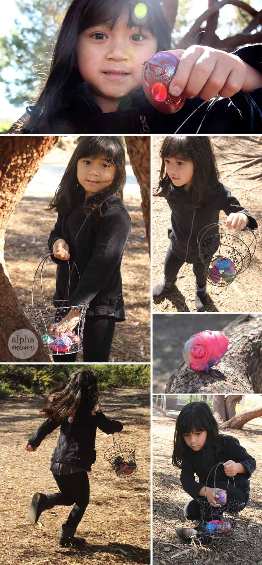Dragon Eggs for a super cool Easter Egg Hunt! by Brenda Ponnay for Alphamom.com