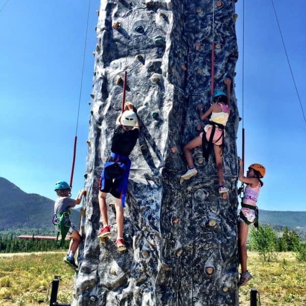 Snow Mountain Ranch in Winter Park, Colorado: great for Family Vacation (rock climbing)