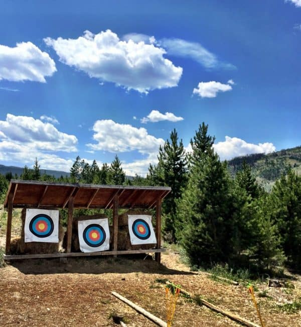 Snow Mountain Ranch in Winter Park, Colorado (archery)