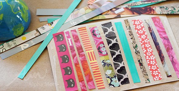 Earth Day Craft: Recycled Art Postcards! by Brenda Ponnay for Alphamom.com