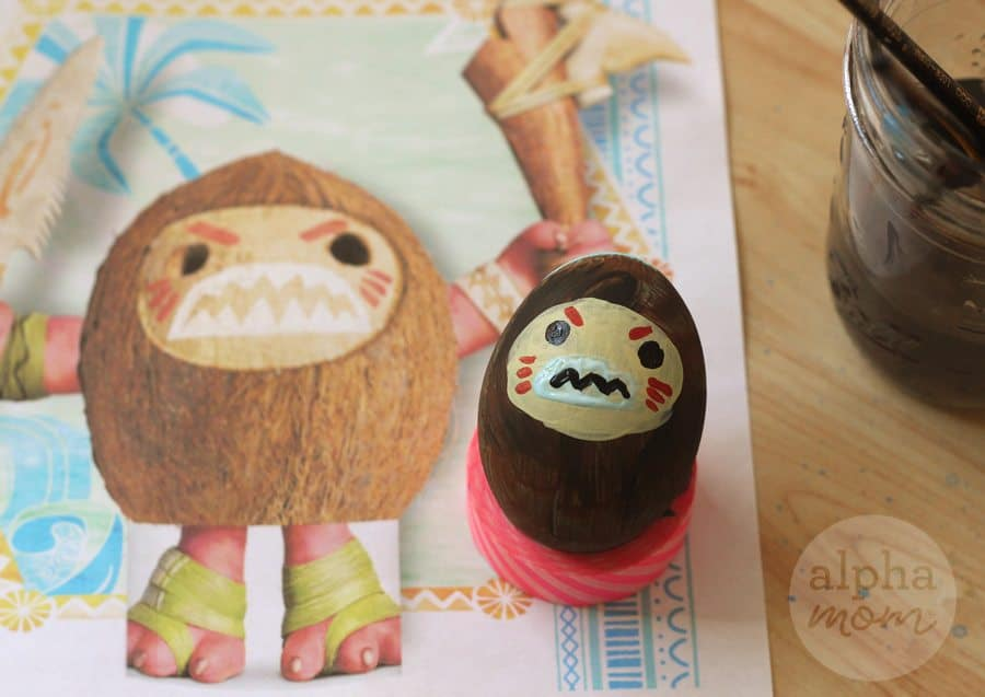 Kakamoora Coconut Pirate Easter tutorial