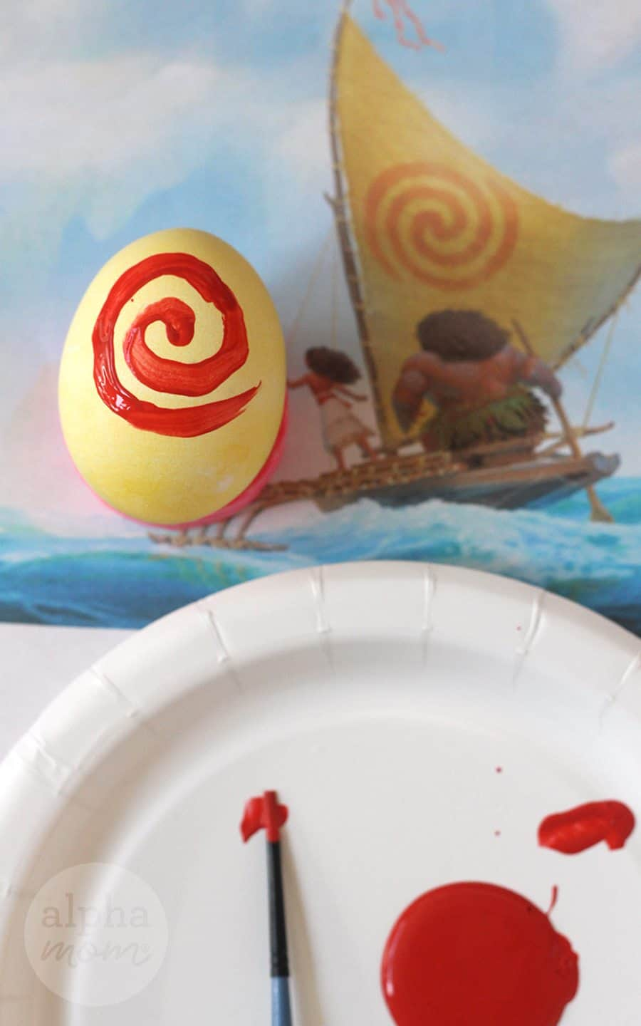 Moana's Sail Easter egg