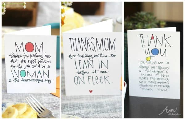Mother's Day Cards Done Right: free printable cards at Alphamom.com