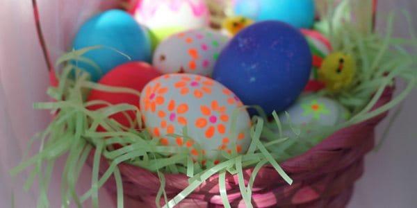 DIY Neon Eggs
