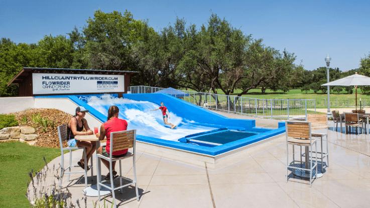 Hyatt Regency Hill Country Resort: Flowrider