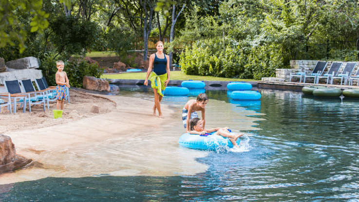 Texas sized family fun at hyatt regency hill country for Spas and resorts in texas