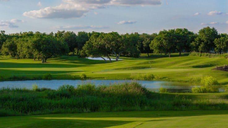 Hyatt Regency Hill Country Resort: golf club