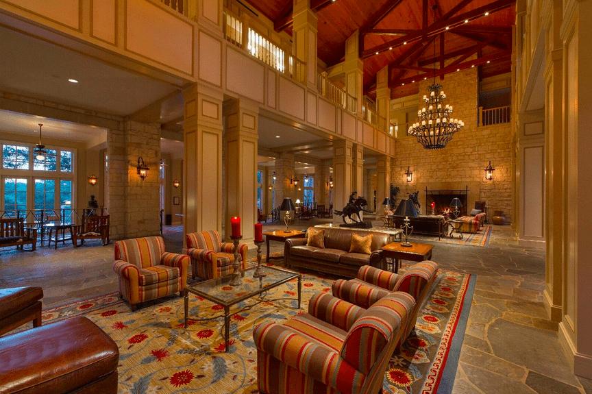 Texas-Sized Family Fun at Hyatt Regency Hill Country Resort: lobby