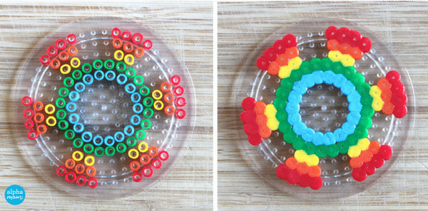DIY Fidget Spinners with Fuse Beads (how-to) by Wendy Copley for Alphamom.com
