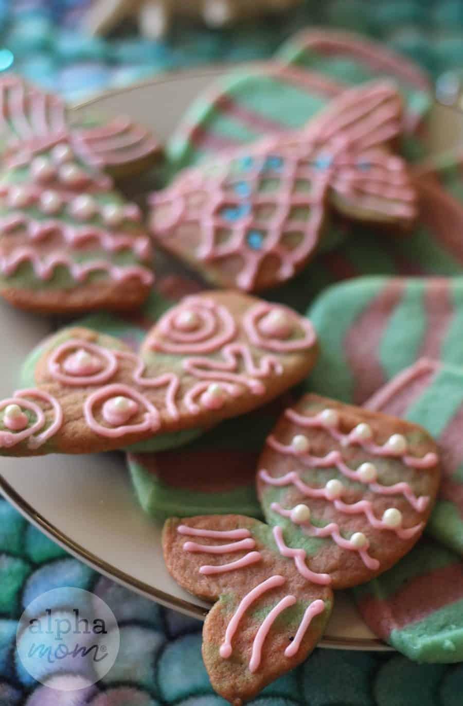 Mermaid Icebox Cookies