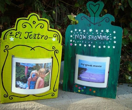 Homemade Show-and-Tell Theater for Summer Photos by Brenda Ponnay for Alphamom.com