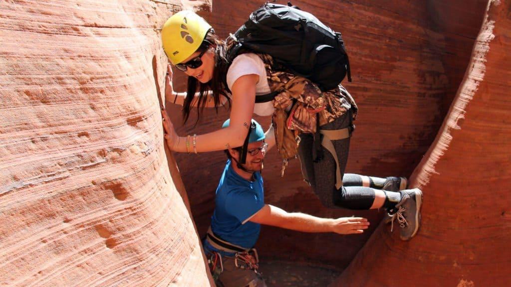 Canyoneering at Zion Ponderosa Resort