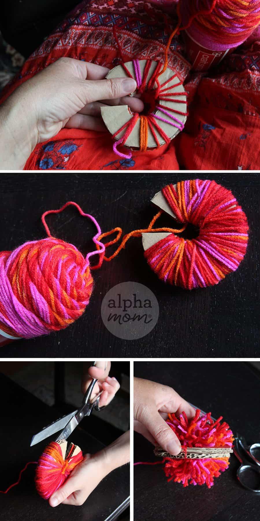 How to Make your Own Pom-Pom Maker (how-to) by Brenda Ponnay for Alphamom.com