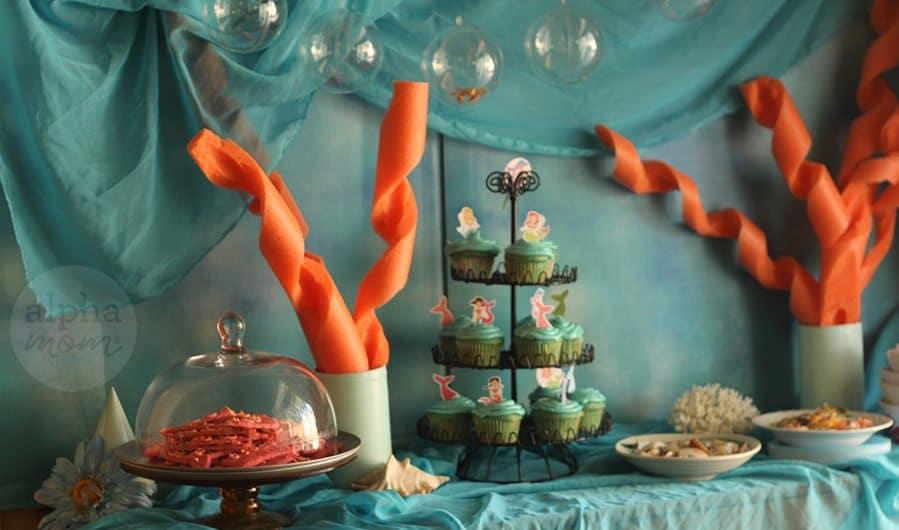 DIY Mermaid Party Decor | Alpha Mom