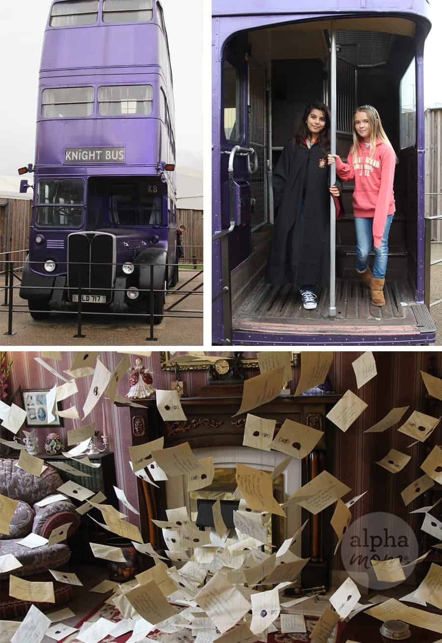 Studio Tour of the Making of Harry Potter Review (The Knight Bus) by Brenda Ponnay for Alphamom.com