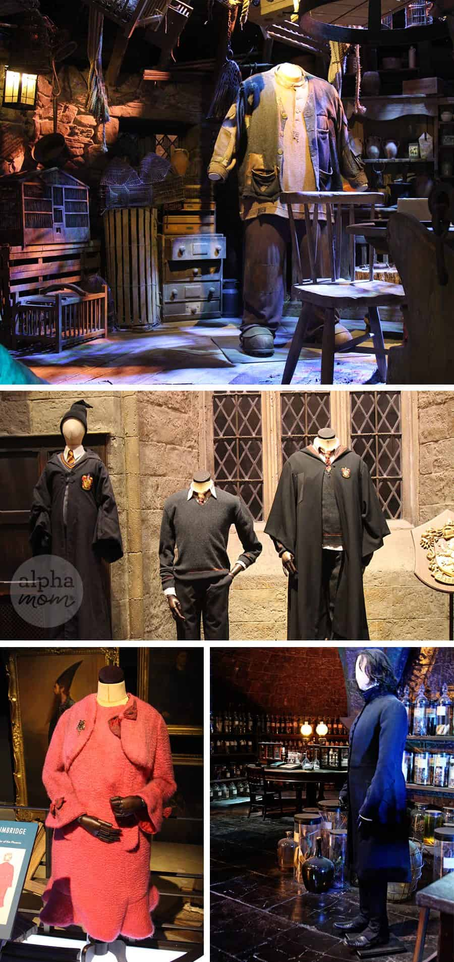 Studio Tour of the Making of Harry Potter Review (costumes) by Brenda Ponnay for Alphamom.com