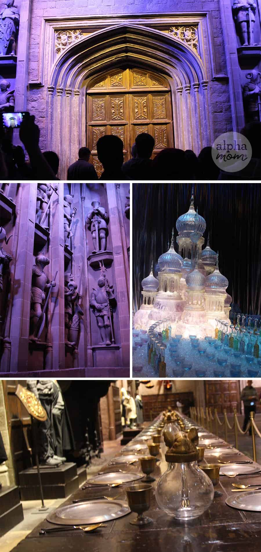 Studio Tour of the Making of Harry Potter Review (stage props)
