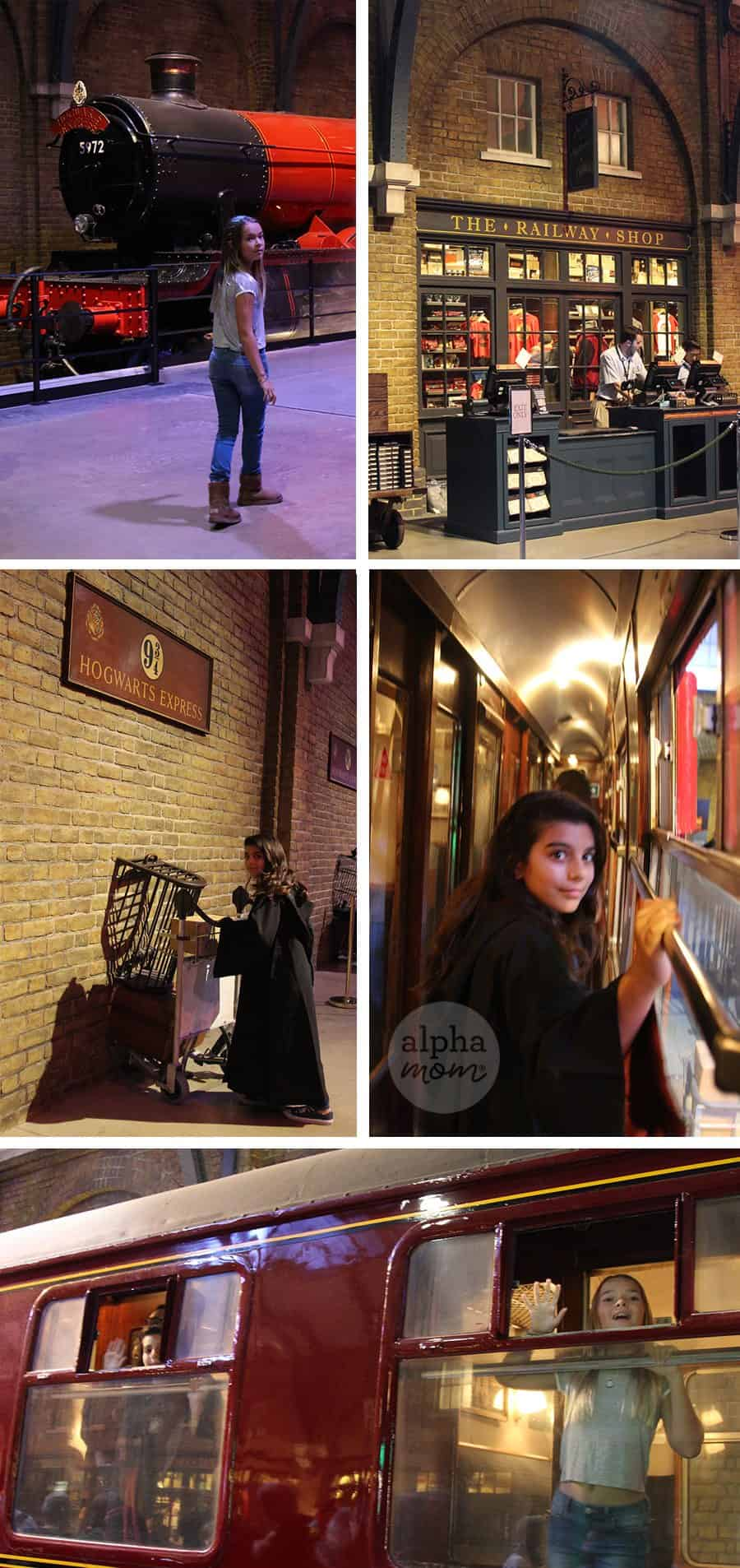 Studio Tour of the Making of Harry Potter Review (Hogwarts Express) by Brenda Ponnay for Alphamom.com