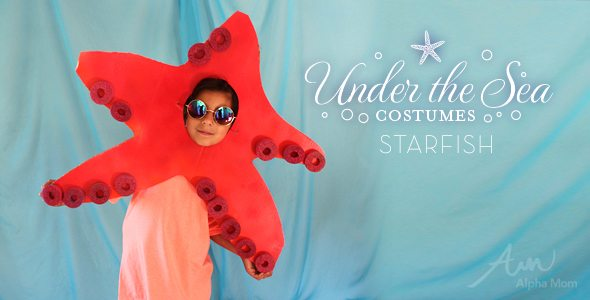 Starfish Costume How-To by Brenda Ponnay for Alphamom.com