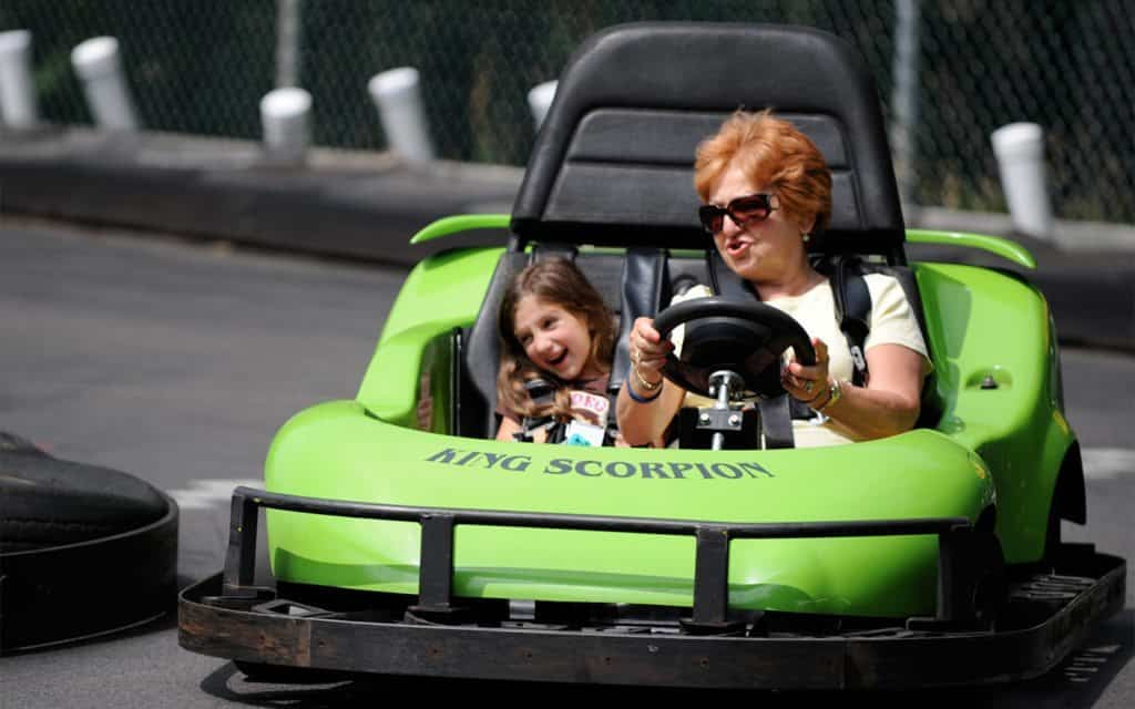 Woodloch Pines Family Friendly Resort That Actually Knows What Those Words Mean (go karts) by Amy Corbett Storch for Alphamom.com