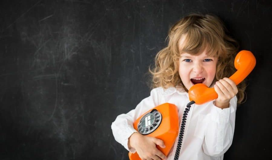 Give Your Children a Quick Lesson in Phone Etiquette. Because They Probably Need It.