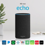 Amazon Echo: The second generation Echo is the next best thing to hiring a personal assistant for the grandparents! (Bonus: You can connect the Echo to the Ask My Buddy network, which allows users to call for help. Terrific for older adults or those with health problems.)