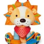 Bandana Buddies Activity Lion: Your baby's got a new best friend: the crinkly, crunchy, soft and bumpy Activity Lion. Designed for ages 3 months and up.