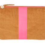 Claire V Flat Clutch: We're swooning over this fantastic clutch — it's the perfect pop of pink, and she can toss it in her tote during the day or carry it on it's own at night.