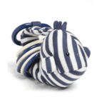 Clicketty Walter Whale Ring Toy: Keep baby busy with this adorable striped whale toy. Bonus: It will look great in your holiday photos!