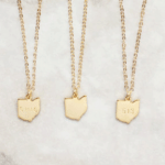Personalized State Necklace: Remind her where home is with this sweet necklace. Add her initials — or your childhood area code — to make it extra personal. All 50 states available.
