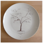 Family Tree Platter: This stunning custom family tree platter is a lovely addition to the table (although it's best for families who aren't anticipating any more grandbabies).