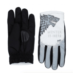 Game of Thrones Winter is Here Gloves: Winter is coming — but he'll be ready for it with these Freezy Freakies gloves.