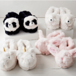 Pottery Barn Critters Faux Fur Slippers: Keep your kids' feet cozy with these adorable slippers. (We're in love with the unicorns.)