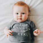 The Snuggle Is Real Tee: Just perfect. Our only complaint is that it doesn't come in adult sizes.