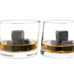 Whiskey Stones: Pair with a bottle of single-malt Scotch for a sophisticated evening cocktail — we recommend the slightly quirky but deliciously smooth Shackleton Whiskey.