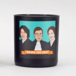 Badass Babes Candles: Light a candle for the resistance — just make sure it's a candle with a strong woman who is defending our democracy on it. If there are three, even better!