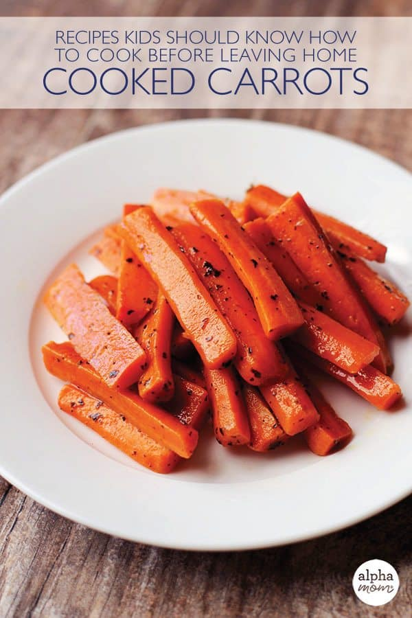 Teach Kids How to Cook Delicious Carrots (our secret recipe)