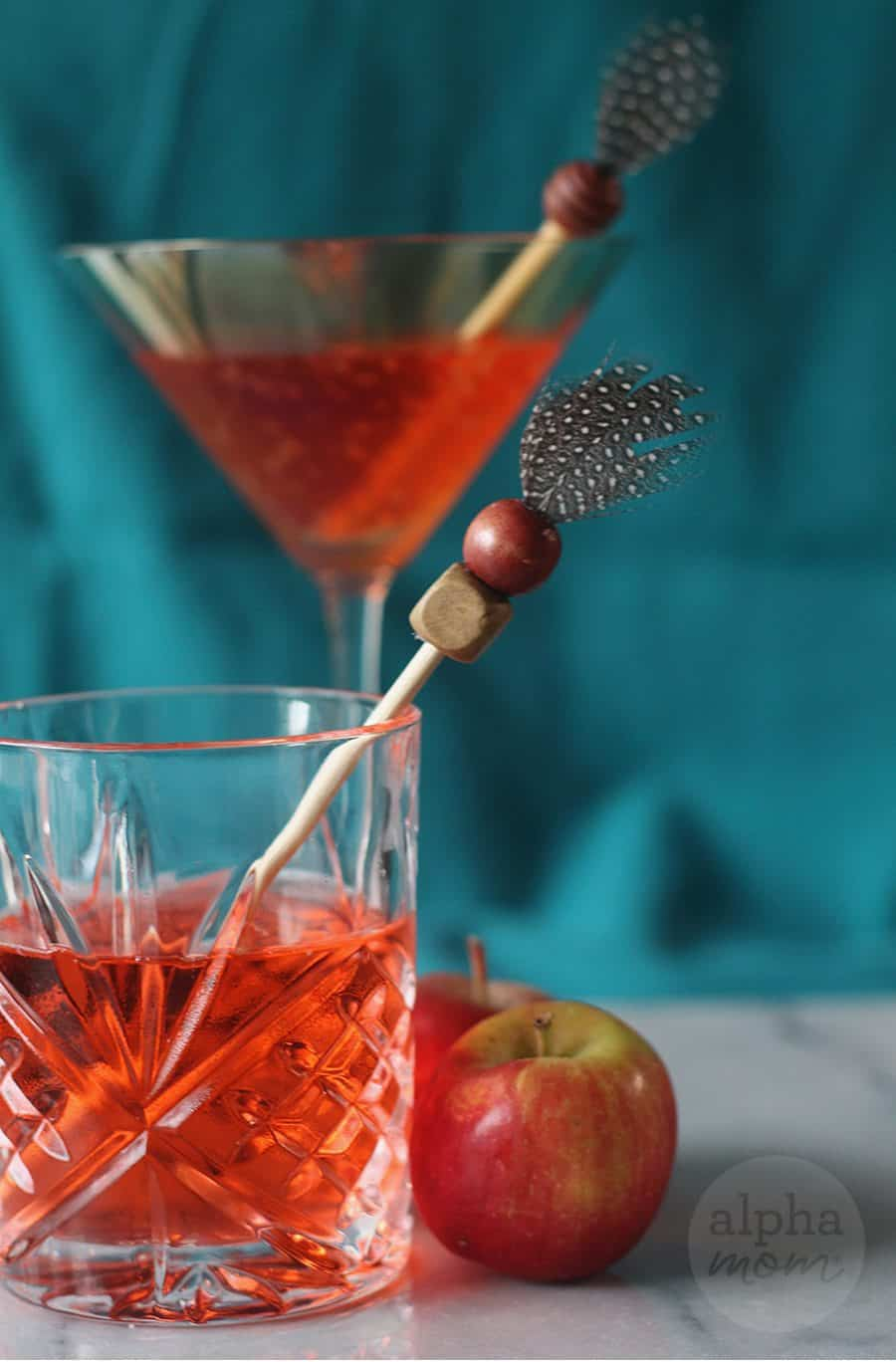 DIY Thanksgiving Drink Stirrers by Brenda Ponnay for Alphamom.com